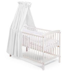 """Babybett """"JULIA"""" Komplett 120x60 cm weiss"""