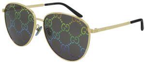 Gucci Sonnenbrillen GG0945SA 004 Uni Gold
