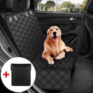 Hundedecken, wasserdichte Decken und rutschfeste Polster für den Rücksitz von Autos, Haustierdecken und Hundetaschen, die den Rücksitz vollständig abdecken können