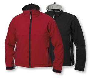 Clique Kinder Softshelljacke Jungen Mädchen Outdoor Jacke Regenjacke Windjacke, Farbe:Schwarz, Größe:110/120