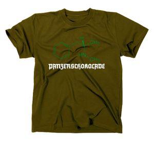 Styletex23 T-Shirt #3 Crystal Meth Panzerschokolade Pervitin, oliv, XL