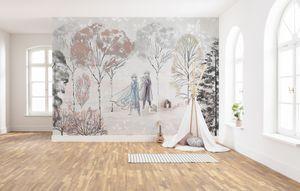 """Komar Vlies Fototapete """"Frozen Natural Spirit"""" - Größe: 400 x 280 cm (Breite x Höhe), 8 Bahnen"""