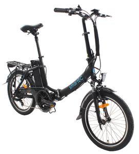 smartEC Camp-20D Falt Pedelec/E-Bike 20 Zoll matt Schwarz