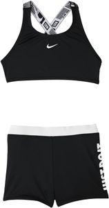 Nike Swim JDI Crossback Sport Bikini Set Mädchen black Kindergröße XL | 158-165