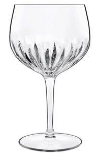 Luigi Bormioli 12464 Mixology Spanish Gin und Tonic Kelch, Cocktailglas, 800ml, SON.hyx Kristallglas, transparent, 6 Stück