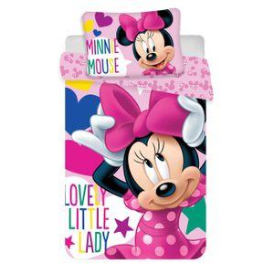Disney Minnie Micky Cars Kinder Bettwäsche Kopfkissen Bettdecke Micky 100x135 Minni Maus 5
