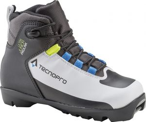 TECNOPRO Ki.-Langlauf-Schuh Ultra Jr. PROLIN WHITE/BLACK/ROYAL 4,5