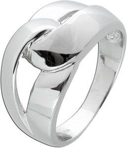 Knoten Ring Silber 925 geflochtenen Design Damenschmuck 18