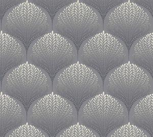 A.S. Création Vliestapete Palila Tapete grau schwarz weiß 10,05 m x 0,53 m 363101 36310-1