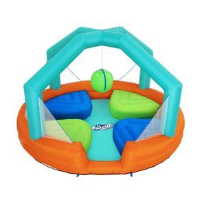 Bestway 53383, Aufblasbares Spielcenter, Junge/Mädchen, PVC, Polyester, Mehrfarben