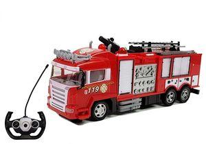 RC Feuerwehrauto Lkw Ferngesteuert Fire Brigade Truck mit Löschkanone