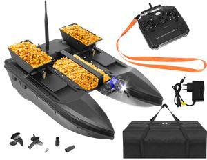Ferngesteuertes Boot Fischköder Boot 1-2 kg Beladung  300-500m Fernbedienung 9775, Größe:2000g