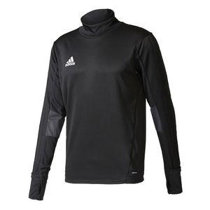 adidas TIRO17 Herren Sweatshirt Schwarz, Größe:XL