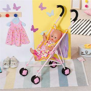 Zapf Creation 828663 BABY born Stroller with Bag