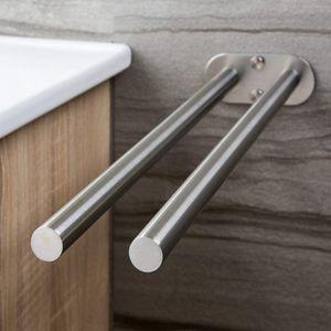 Edelstahl Handtuchhalter Selbstklebend Badetuchhalter Handtuch Badstange Ohne Bohren Handtuchstange Handtuchhalter