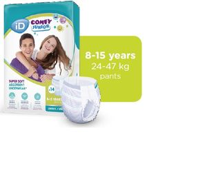 ID Comfy Junior Pants 8-15 Jahre 6x14Stk