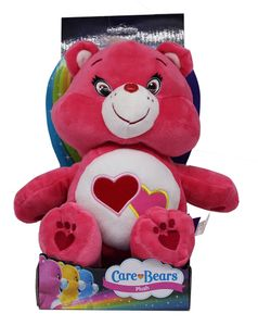Care Bears Love-a-Lot Bär Plüschfigur Soft rosa 27cm