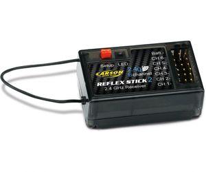 Carson 6 Kanal 2,4Ghz Empfänger Reflex Stick 2 für 500501006 u 500501003