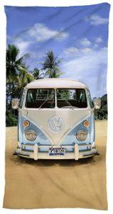 Strandtuch 75 x 150 cm, Motiv 1 VW-Bulli