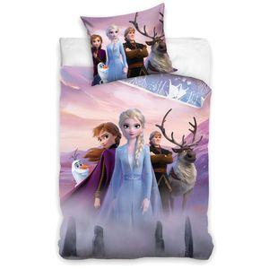 Kinder Wende Bettwäsche   Disney Eiskönigin   Frozen   Baumwolle 135x200 cm