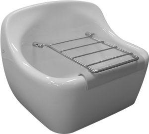 Ideal Standard Ausgussbecken Duoro 445 x 340 mm weiß