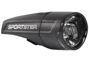 SIGMA SPORT Sportster LED Frontscheinwerfer mit StVZO schwarz