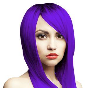 Lila Haarfarbe Headshot Psycho Purple, Semi-permanente Haartönung 150 ml