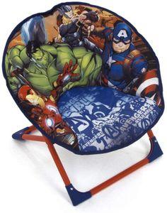 Avengers Kindersessel gepolstert klappbar Sessel Fernsehsessel Faltsessel Kindermöbel