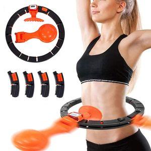 Fitness Hula-Hoop Reifen Gewichtsverlust einstellbar Geeignet für 110cm innere Taille