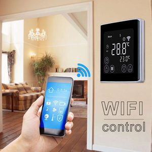 Digital WiFi Raumthermostat Fußbodenheizung Wandthermostat Thermostat Programmierbar