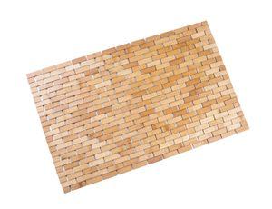Duschmatte 50x80 cm aus Bambus