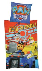 Paw Patrol Microfaser-Bettwäsche 135 x 200 cm / 80 x 80 cm