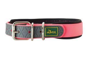 Hunter Halsband Convenience Comfort, 50 cm , neonpink 25 mm, mit weichem Neopren