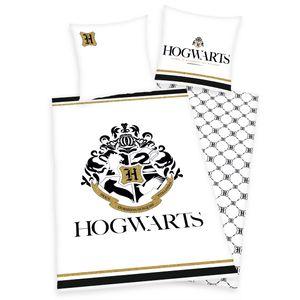 Herding Harry Potter Hogwarts Bettwäsche mit Golddruck , 80x80 U 135x200cm