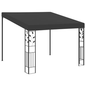 vidaXL Wand-Pavillon 3x3x2,5 m Anthrazit
