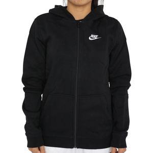 Nike Sportswear Full-Zip (GS) Hoodie Mädchen Schwarz (BV3699 010) Größe: XL (156-166)