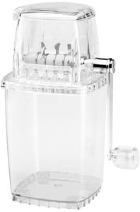 Ice Crusher Transparent Transparent ice crusher to crush ice for cocktails
