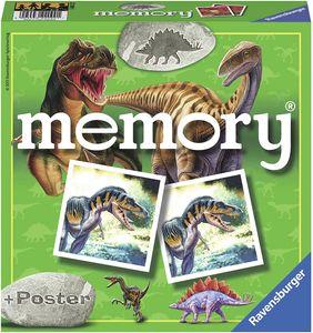 CYE 22099 - Dino Memory, Spieleklassiker fr alle Dinosaurier Fans ab 4 Jahren, Merkspiel fr 2-8 Spieler