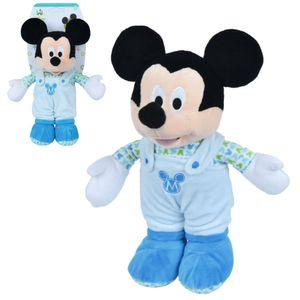 Micky Maus Baby | Disney Mickey Mouse | Plüsch Figur mit Rassel | 28 cm