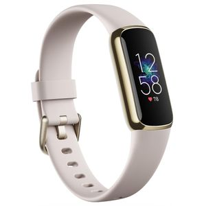 Fitbit Luxe yellow gold/porcel