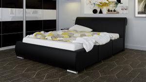 Polsterbett Bett Doppelbett BALDO 160x200cm inkl.Bettkasten