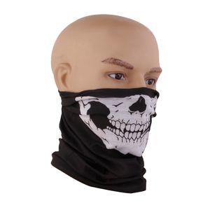 Schädel Bandana Fahrrad Motorrad Gesichtsmaske, Multifunktionell Maske, Halstuch