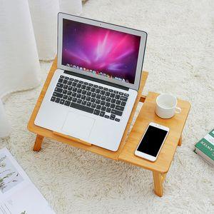 INSKER klappbar höhenverstellbar Betttisch Laptoptisch Notebooktisch Schreibtisch Tablett Tisch Tragbar Faltbar Zeichentisch und Esstisch für Bett