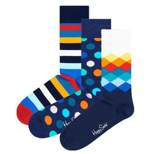 Happy Socks Geschenkbox CLASSIC MIX GIFT BOX XMIX08-6000 Mehrfarbig, Size:36-40