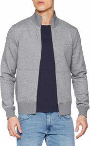 Gant Herren Original Zip Sweatshirt, Grau XL