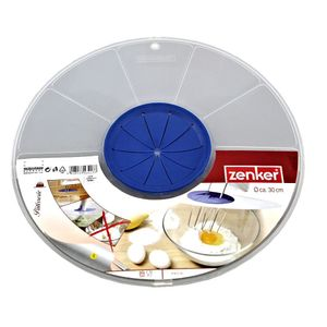 Zenker Patisserie Spritzschutz für Rührschüssel, 30 cm spülmaschinengeeignet