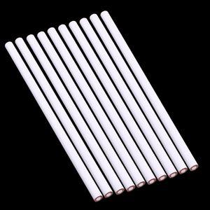 10 Stück China Marker Wachsstift Ungiftig Glas Metall Holz Stoff Weiß Bleistifte 17,5 cm
