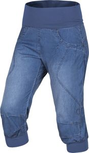 Ocun Noya Jeans Shorts Damen middle blue Größe XL