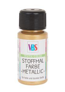 "VBS Stoffmalfarbe ""Metallic"" Gold"