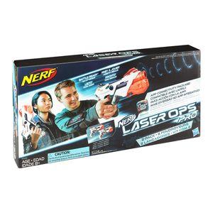 Hasbro Spielzeugpistolen - Nerf - Laser Ops AlphaPoint 2er Pack, E2281